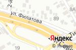 Схема проезда до компании РосКварц в Краснодаре
