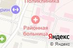 Схема проезда до компании Семилукская районная больница им. А.В. Гончарова в Семилуках
