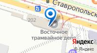 Компания Восточное трамвайное депо, МУП на карте