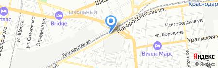 Гарант-Моторс на карте Краснодара