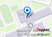 Средняя общеобразовательная школа №100 им. академика В.С. Пустовойта на карте