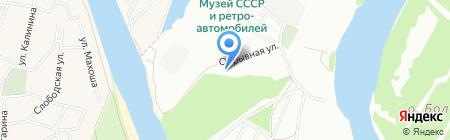 Неон на карте Краснодара