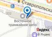 Восточное трамвайное депо, МУП на карте