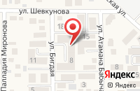 Схема проезда до компании Хуршеда в Российском