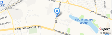 Tuningstar на карте Краснодара