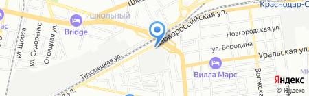 Майна-Вира на карте Краснодара