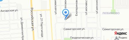 Kvm-Ko на карте Краснодара