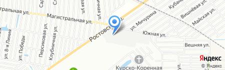 Вик на карте Краснодара