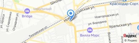 Экстрим-Моторс на карте Краснодара