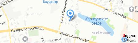 Детский сад №98 Энергия на карте Краснодара