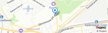 Городские цветы на карте Краснодара