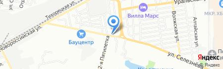 Max Motors на карте Краснодара