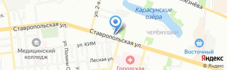 G.S.F.R. на карте Краснодара
