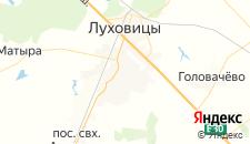 Гостиницы города Луховицы на карте