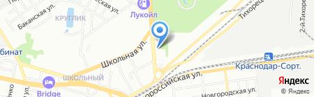 Алексавто на карте Краснодара