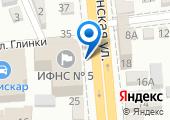 Инспекция Федеральной налоговой службы России №5 по г. Краснодару на карте