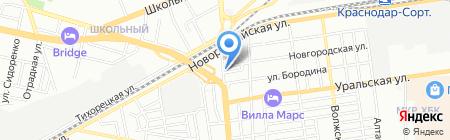 Декарт на карте Краснодара