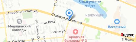 Sex-b на карте Краснодара