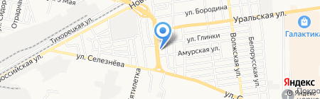 Цветы на карте Краснодара
