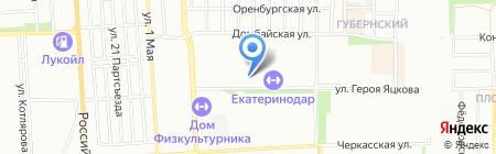 Bvais на карте Краснодара
