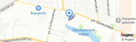SвязьОптSервис на карте Краснодара
