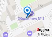 Общежитие КубГУ на карте