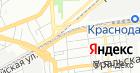 Продовольственный магазин на Новороссийской на карте