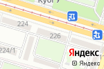 Схема проезда до компании CityLab в Краснодаре