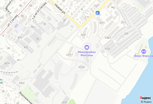 жилой комплекс Фонтаны
