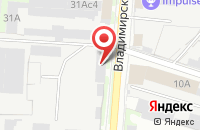 Схема проезда до компании Металлон в Егорьевске