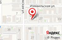 Схема проезда до компании OlA-studio в Российском