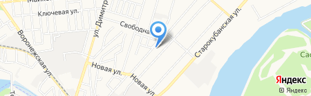 Алатау-Алем на карте Алматы