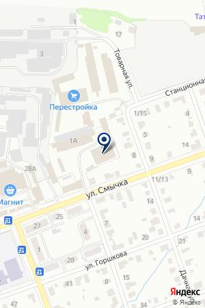 ПРОДОВОЛЬСТВЕННЫЙ МАГАЗИН ВАЗЯГИНА Г.Ф. на карте Егорьевска