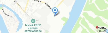 Фонтаны на карте Краснодара