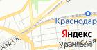 Продуктовый магазин на Новороссийской на карте
