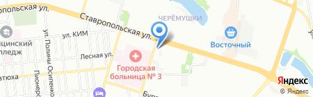 Студия НБ на карте Краснодара