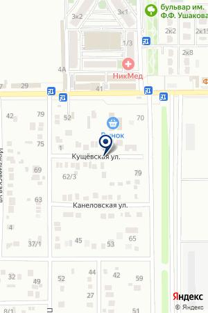 НЕФТЕПЕРЕКАЧИВАЮЩЯЯ СТАНЦИЯ на карте Краснодара