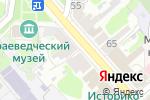 Схема проезда до компании Москва в Егорьевске