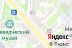 Схема проезда до компании Сладкий рай в Егорьевске
