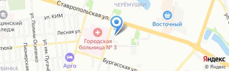 Визит-Краснодар на карте Краснодара