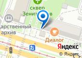 Копировальный центр на карте