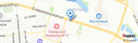 D & J House на карте Краснодара