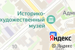 Схема проезда до компании Марс в Егорьевске