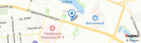 КИТ-ТУР на карте Краснодара