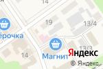 Схема проезда до компании Киоск по продаже фруктов и овощей в Семилуках