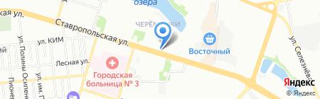Adelia на карте Краснодара
