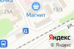 Схема проезда до компании Рубль Бум в Семилуках