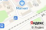 Схема проезда до компании Правильный цыпленок в Семилуках