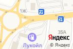 Схема проезда до компании ЛУКОЙЛ в Семилуках