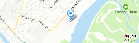 Авис на карте Краснодара